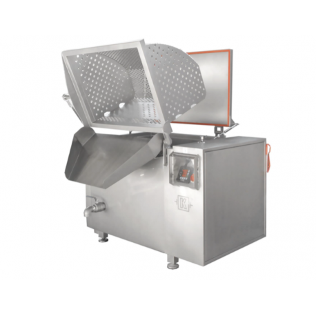 ELECTRIC BOILING PAN 600 LITRES with unloading system